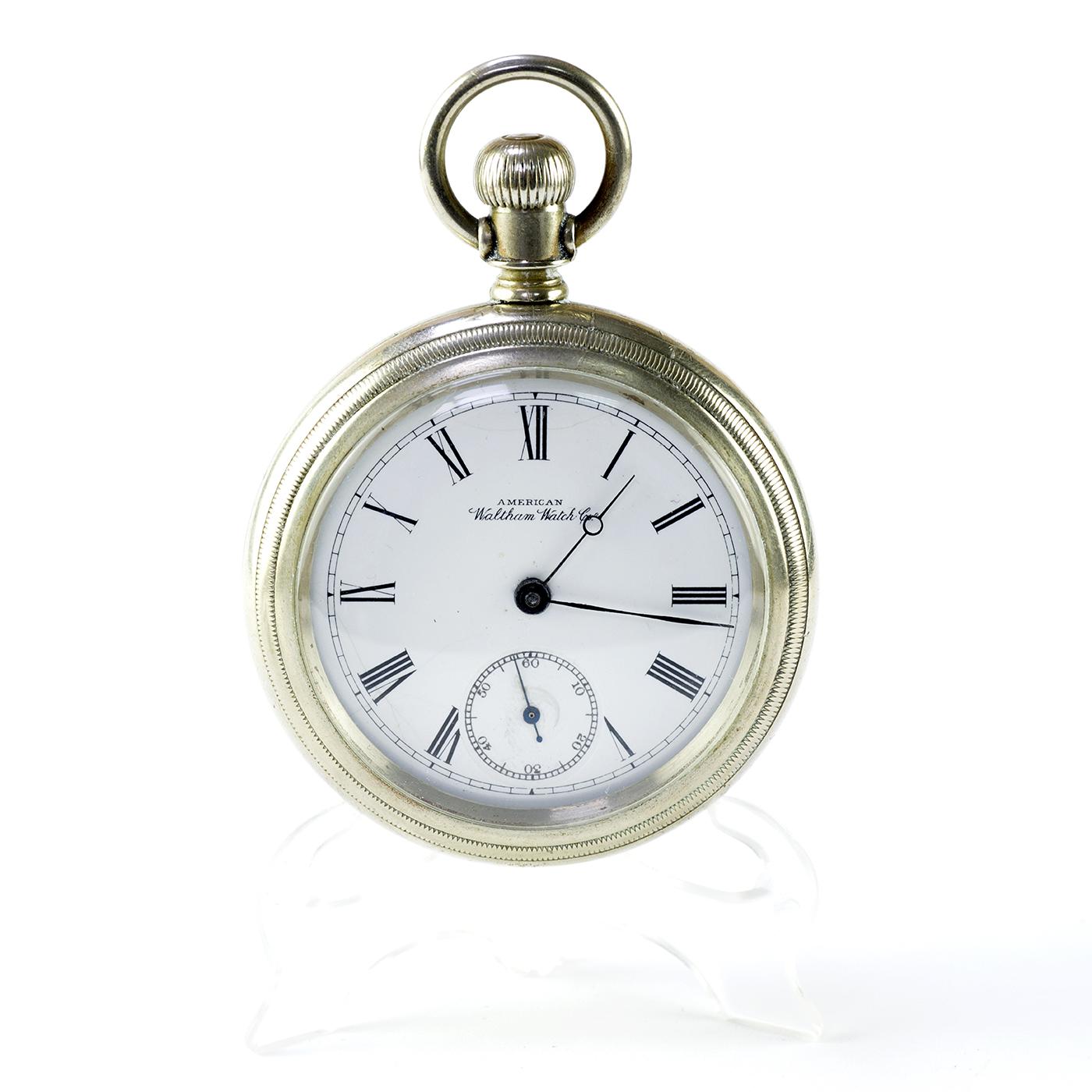 AMERICAN WALTHAM WATCH CO.(USA). Reloj de Bolsillo, Lepine y remontoir. USA, ca.1890.