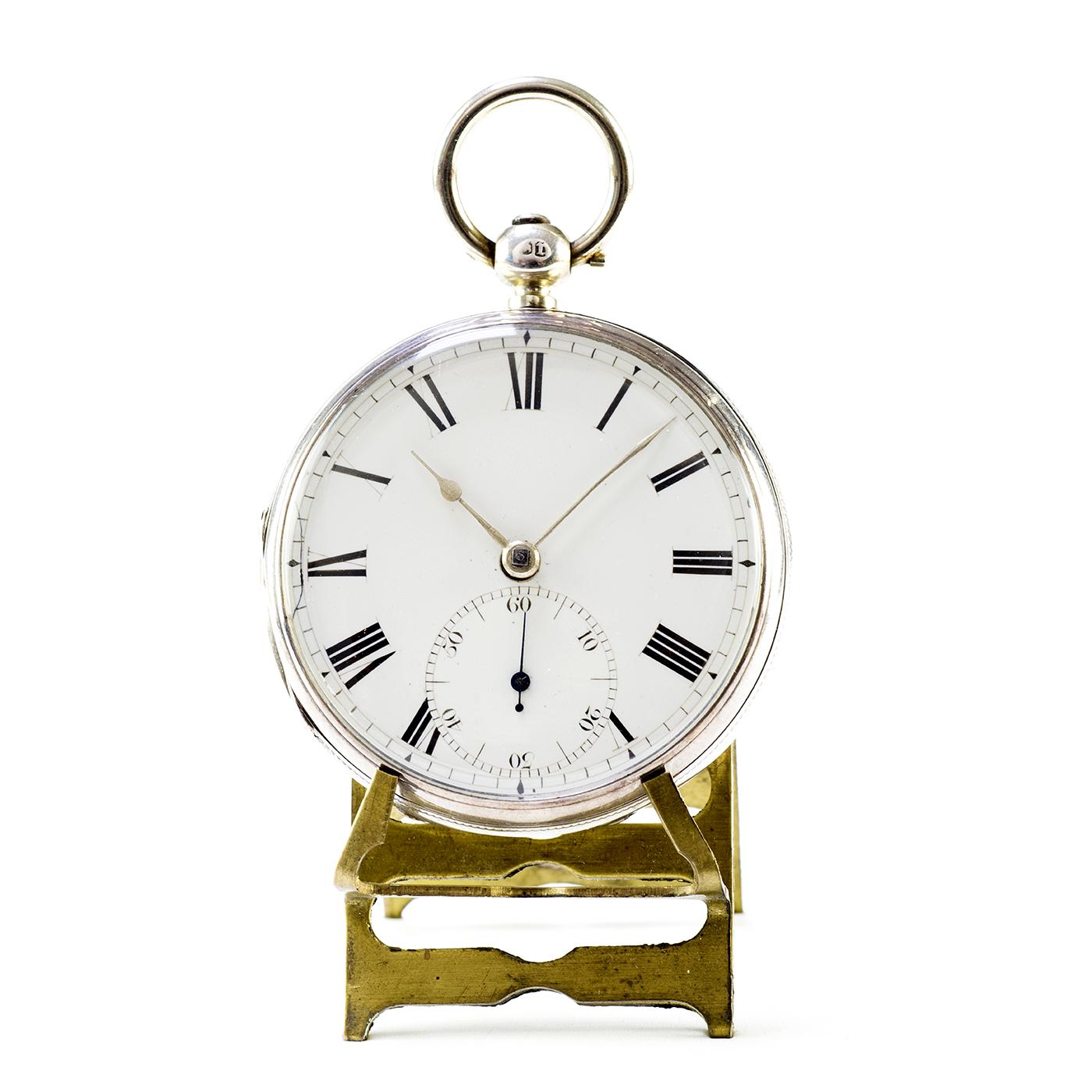 CHAPMAN. Reloj Inglés de Bolsillo, lepine, Half Fusee (SemiCatalino). Inglaterra, 1872.
