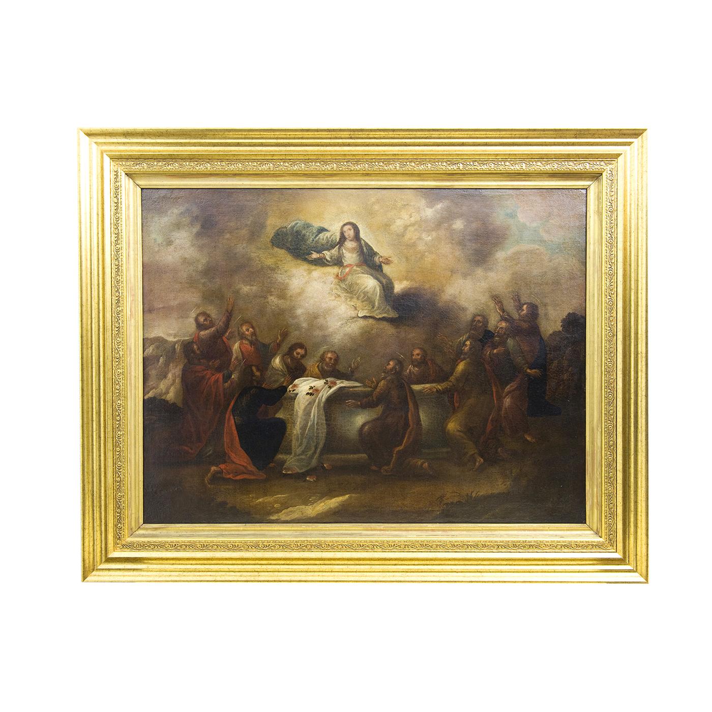 ESCUELA ESPAÑOLA Siglo XVII. Óleo sobre lienzo