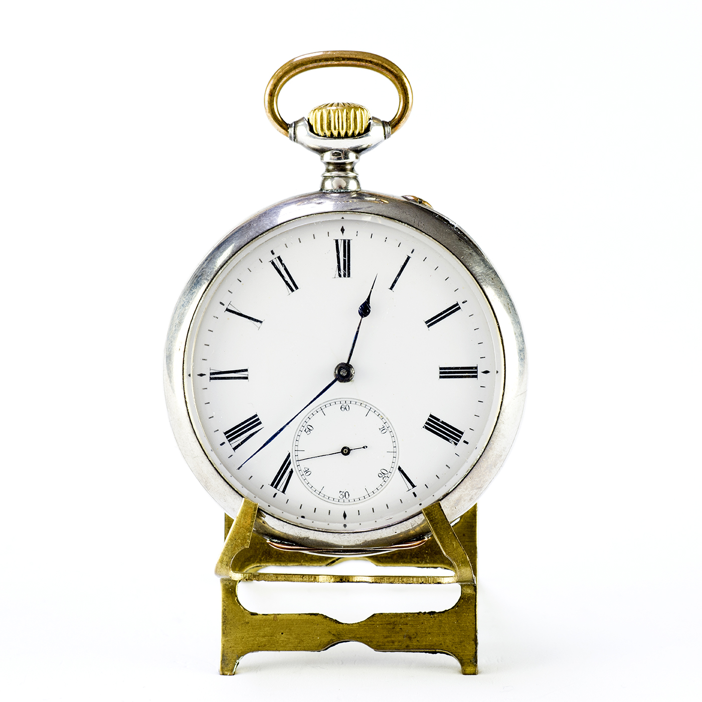 International Watch Company JVC). Reloj de Bolsillo lepine y remontoir. Ca. 1900.