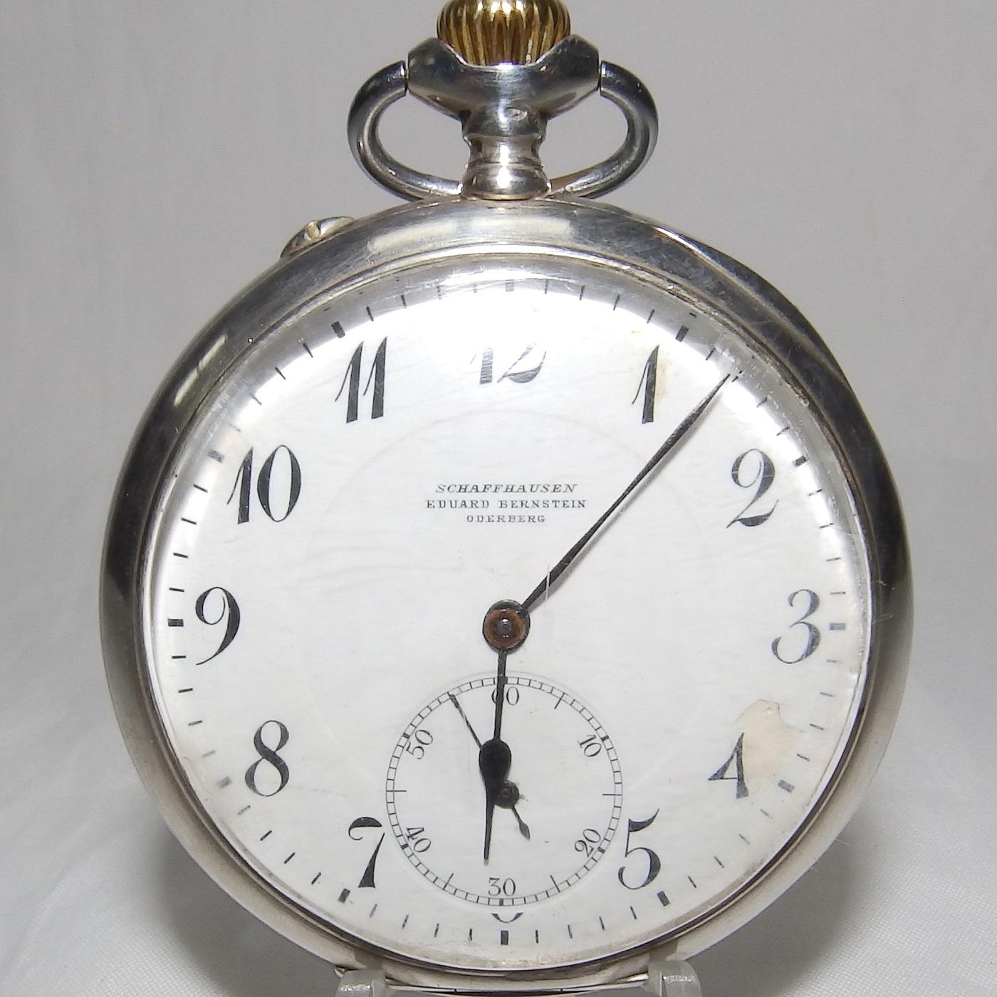 International Watch Company. Reloj de Bolsillo para caballero, lepine y remontoir. Ca. 1912-13.
