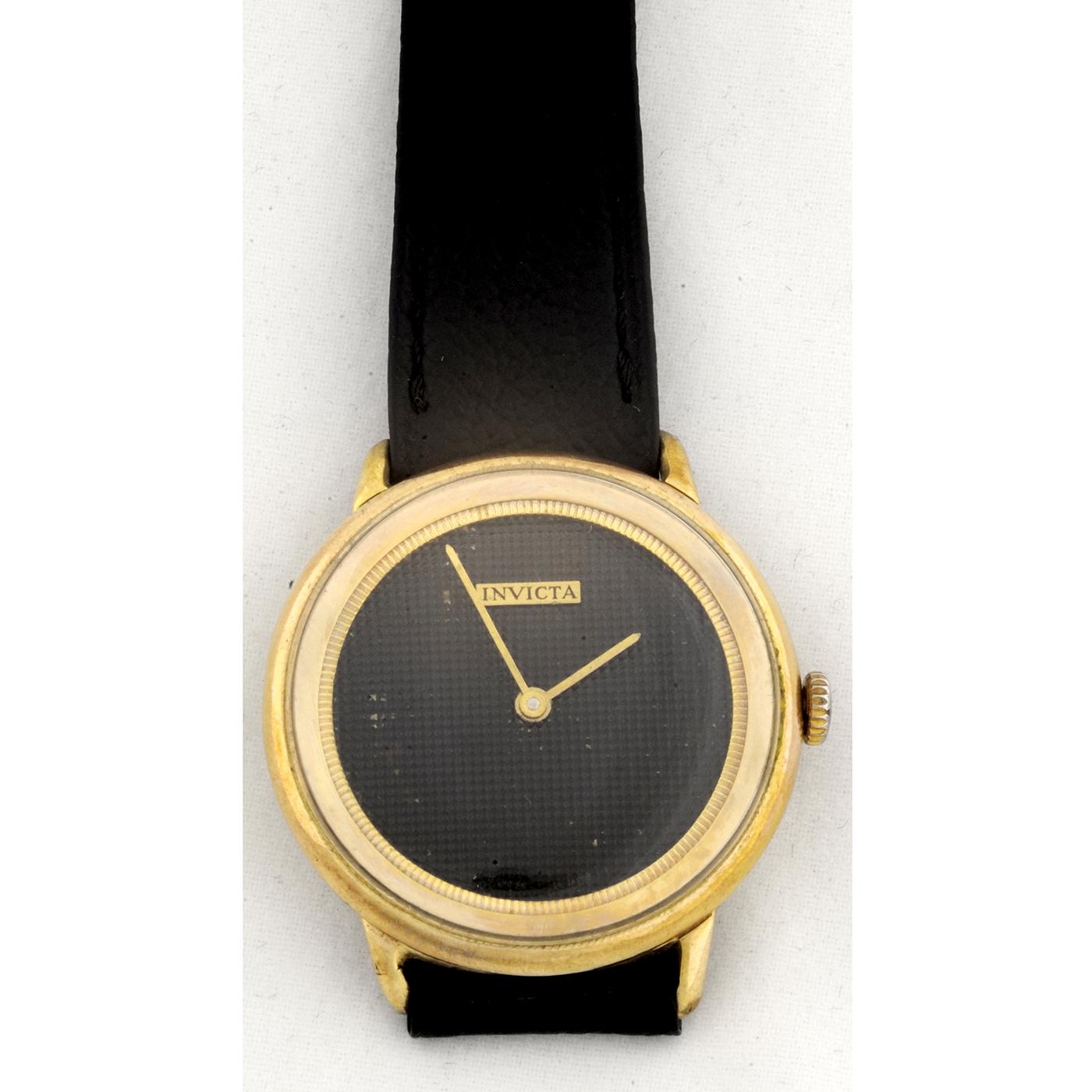 INVICTA. Reloj de pulsera para caballero. Ca. 1970.