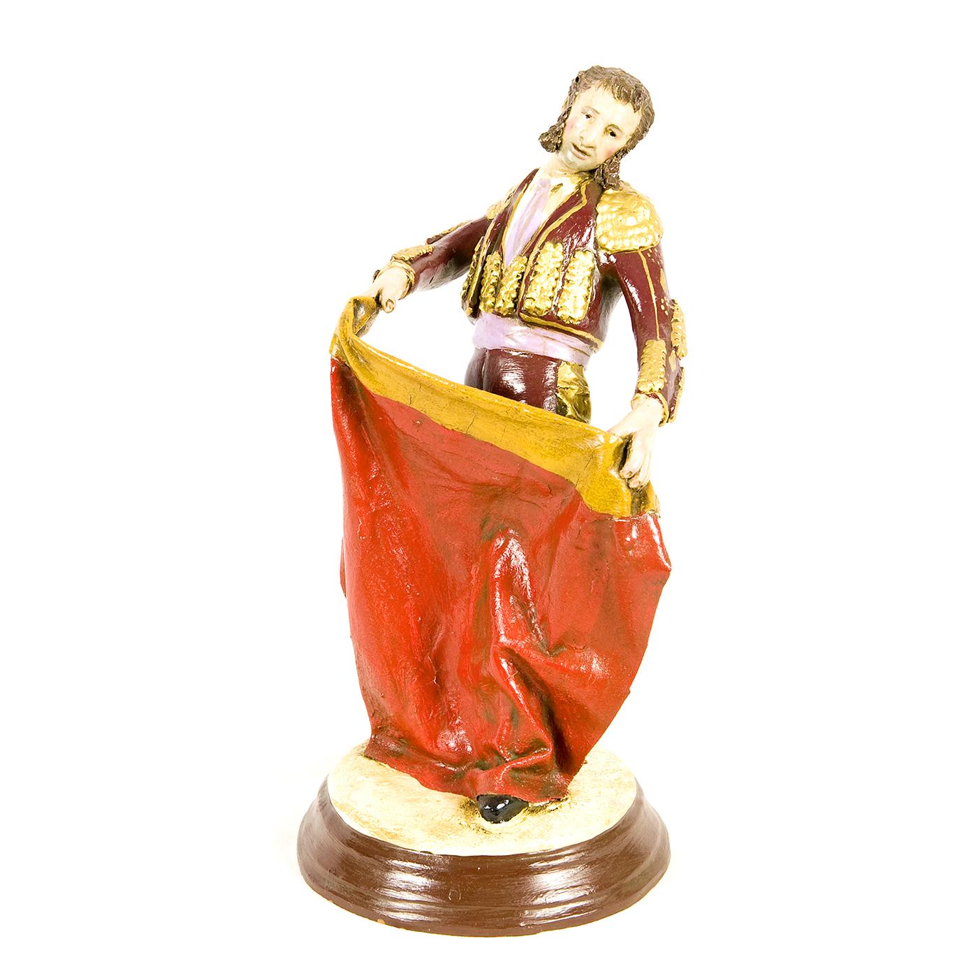JIMENEZ MARISCAL. Escultura de barro cocido. Siglo XX.