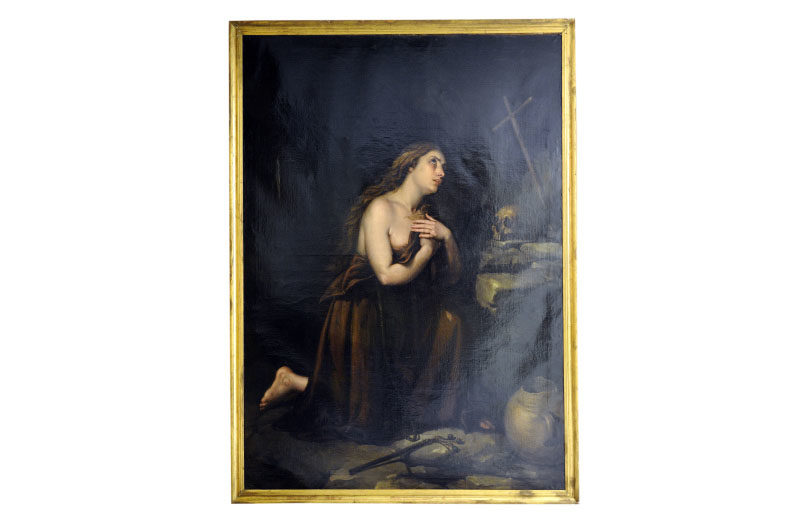 "JOSÉ Mª RODRÍGUEZ DE LOSADA. Óleo sobre lienzo. ""Magdalena"""