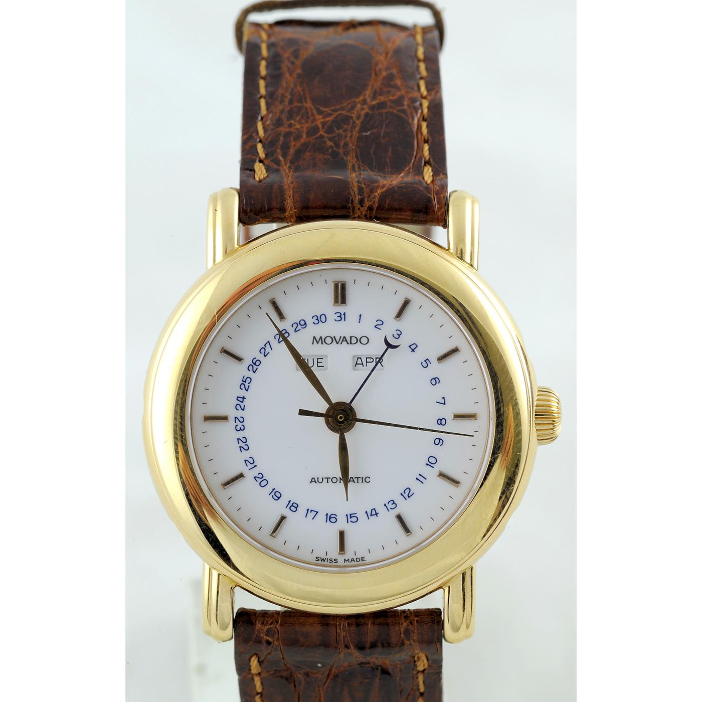 Movado 1881 Suisses. Reloj de Complicación de caballero. Serie Limitada.