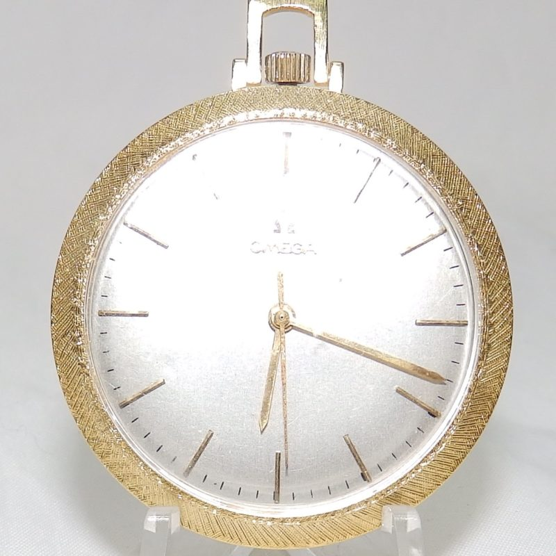 Omega. Reloj de Bolsillo-Colgar, lepine y remontoir. Suiza, ca. 1966