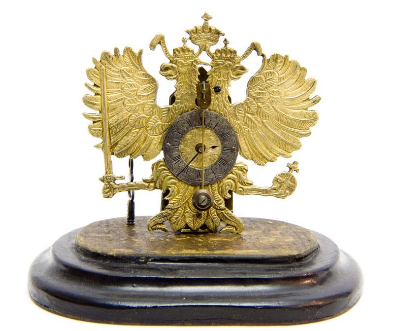 Reloj de Sobremesa de alta colección. Manufactura Austriaca. Siglo XIX