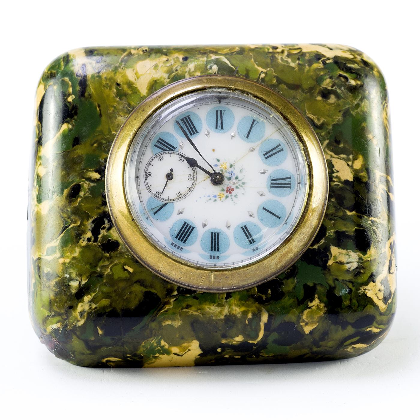 Reloj Suizo de Bolsillo-Sobremesa. Ca. 1900