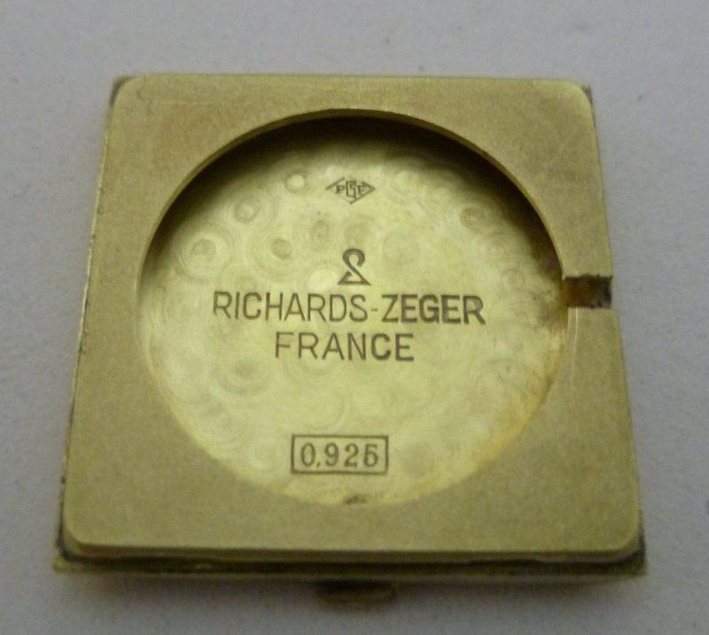 Richard-Zeger. Reloj pulsera para señora. Ca. 1980