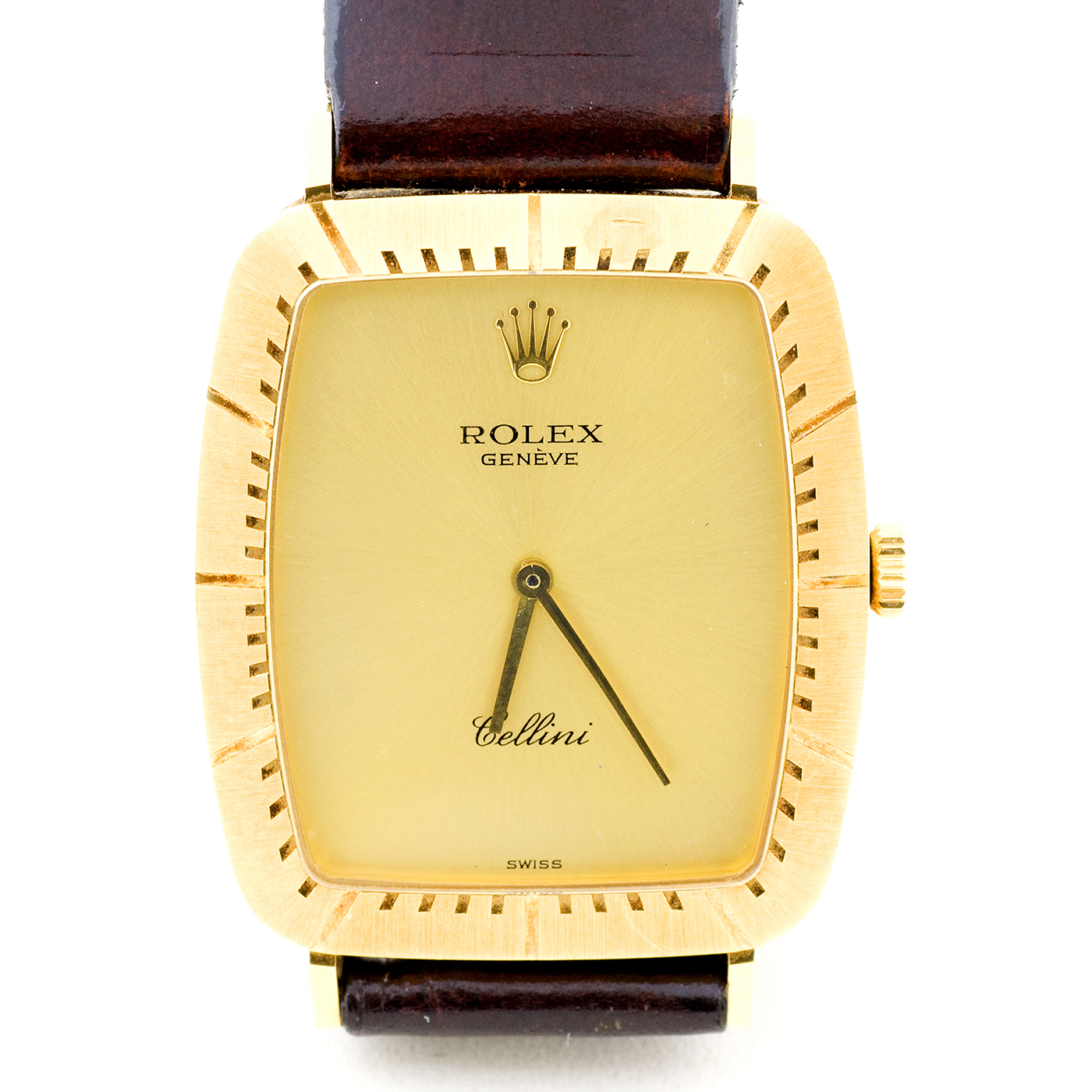 Rolex Cellini. Reloj de pulsera para hombre. Ca. 1980.