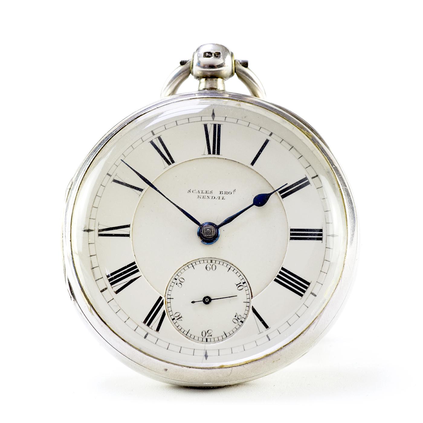 SCALES BROTHERS (Kendal). Reloj de Bolsillo, lepine, Half Fusee (SemiCatalino). Londres, 1871.