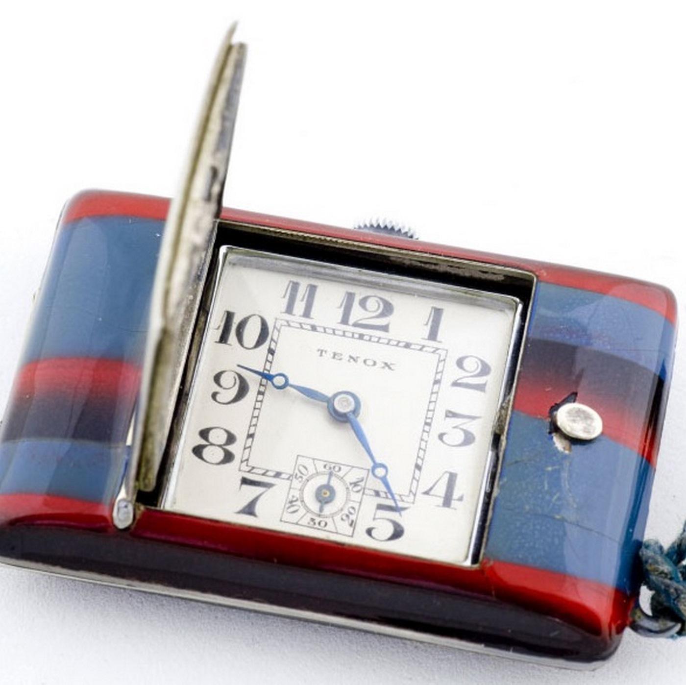 Tenox. Reloj de colgar-sobremesa. Ca. 1931