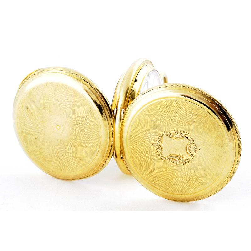 Tiffany (New York). Reloj de bolsillo. Alta colección. Circa 1845-1850