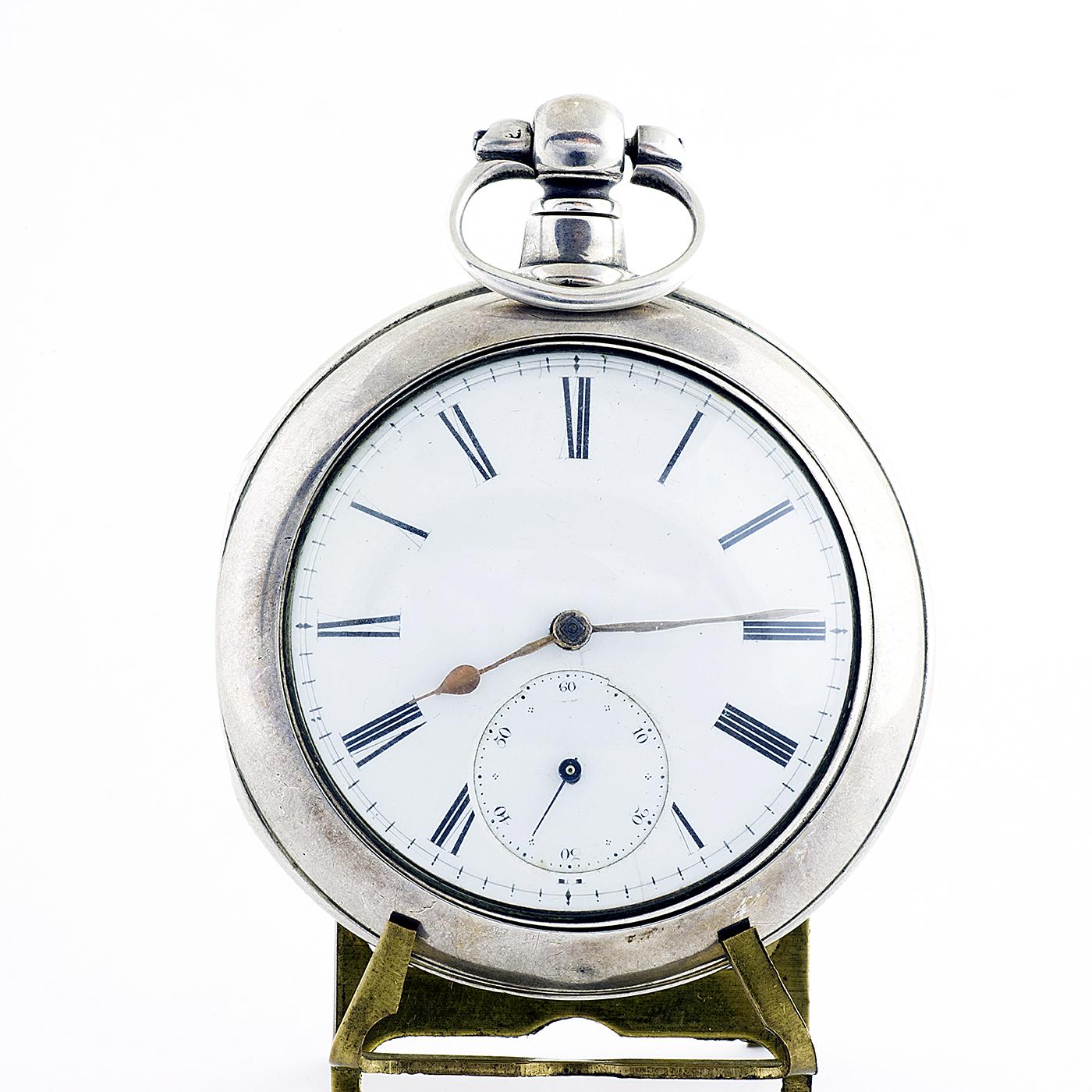 STEWART DAWSON AND COMPANY (Liverpool). Reloj de Bolsillo para caballero, lepine. Birminghan, 1890.