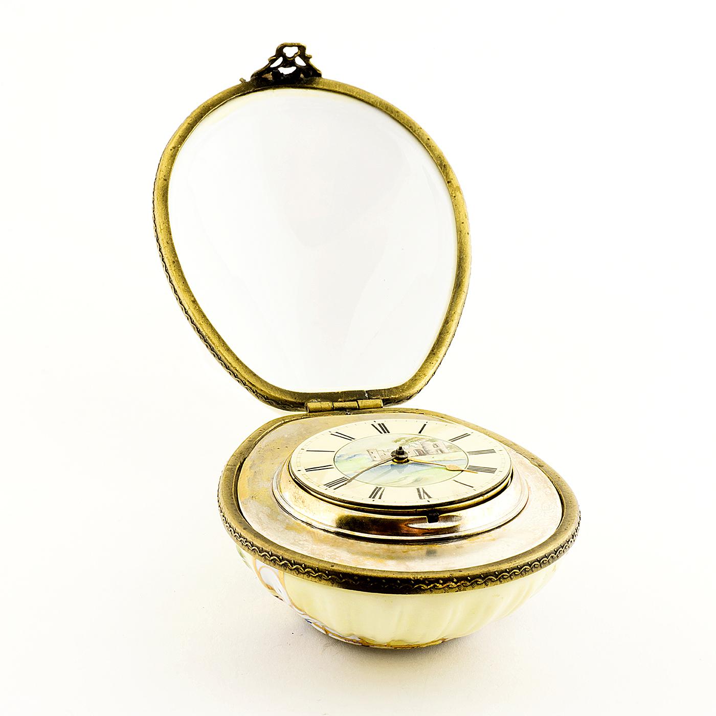 William Wood, Liverpool - reloj de bolsillo - sobremesa. Siglo XIX.