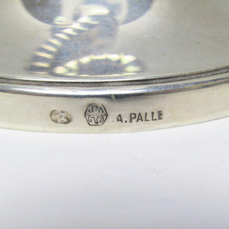 Conjunto de cuatro Candeleros en Plata de Ley. España, siglo XX.
