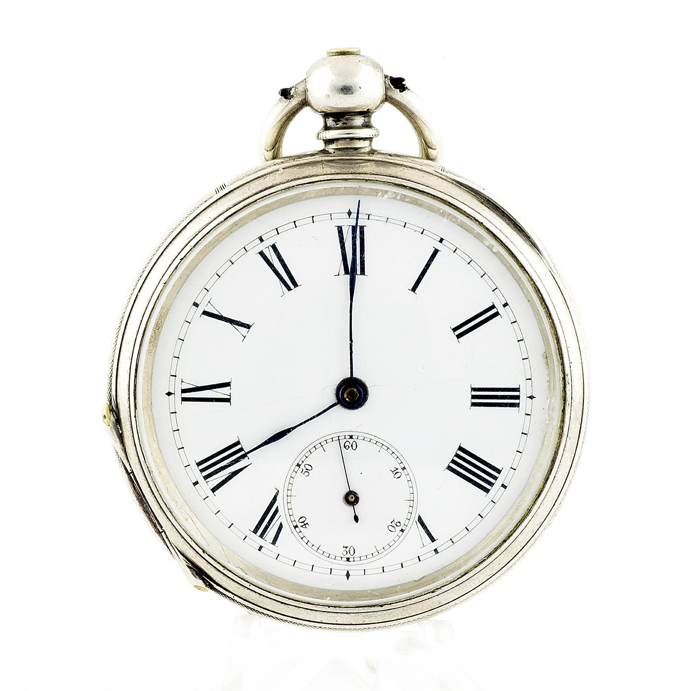 JOHN BENNETT (Londres). Reloj de Bolsillo para caballero, lepine. Ca. 1900