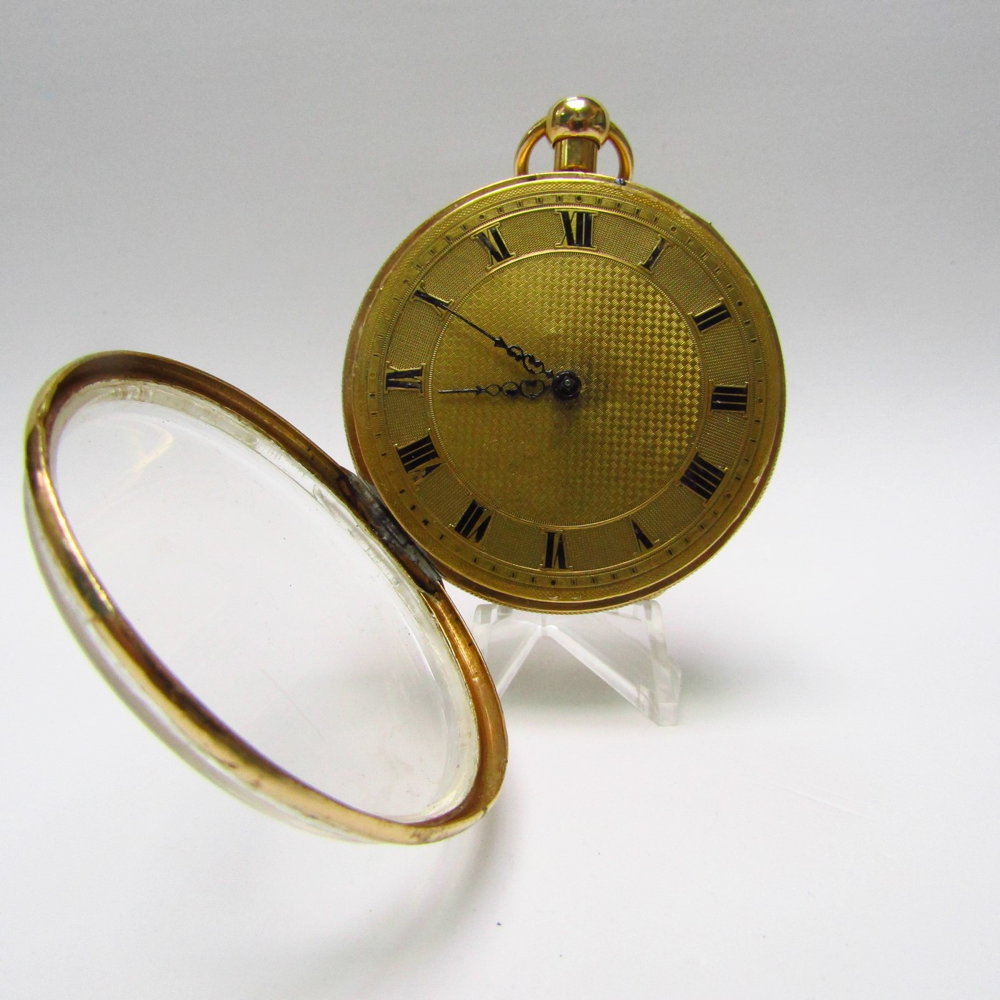 J.D. PIGUET & MEYLAN. Reloj de Bolsillo, lepine. Oro 18k. Suiza, ca. 1815.